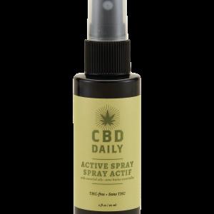 Earthly Body CBD Active Spray 2 fluid ounces