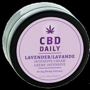 CBD Daily Intensive Cream In Lavender 1.7 ounces