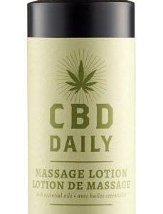 Earthly Body CBD Daily Massage Lotion 8oz