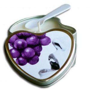 Edible Heart Candle – Grape
