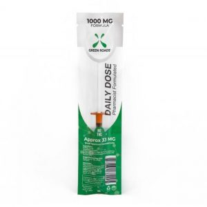 CBD Tincture Daily Dose Syringe 1000mg