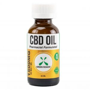 CBD Oil Tincture 1500mg Bottle 1oz