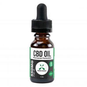 CBD Oil 550mg Sublingual + Vapeable