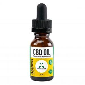CBD Oil 350mg Sublingual + Vapeable .5oz Bottle