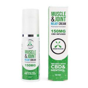 CBD Pain Cream 150mg 1oz Bottle