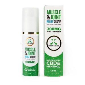 CBD Pain Cream 300mg 1oz Bottle