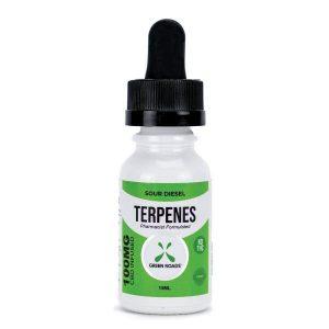 Terpenes CBD Infused Oil Sour Diesel 100mg .5oz Bottle