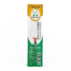CBD Tincture Daily Dose Syringe 1500mg