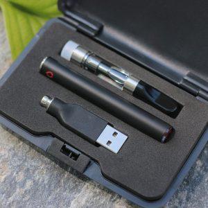 CBD Cartridge Kit  1ml (+ Vape Case, Charger, Battery) (250mg CBD) Kush Flavour