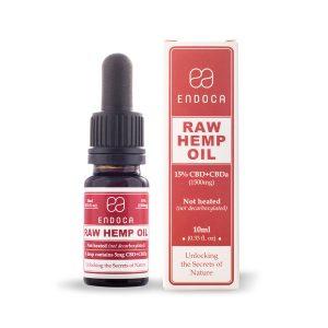 Raw Hemp Oil 10ml (1500mg CBD) Unflavored