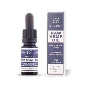 Raw Hemp Oil 10ml (300mg CBD) Unflavored