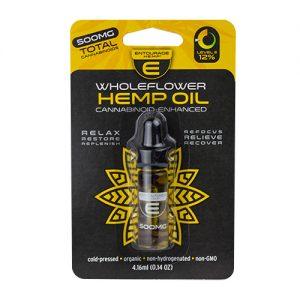 WholeFlower Hemp Oil 4.16ml, 500mg CBD Unflavored