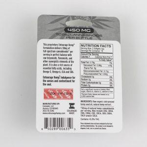 Softgels 30 pack 450mg CBD (15mg/ea) Unflavored