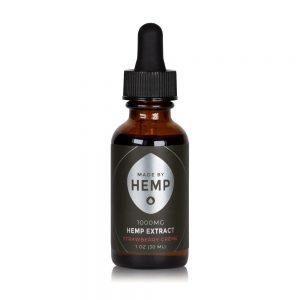Hemp Extract 1oz (1000mg CBD) Strawberry Flavour
