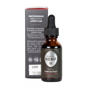 Hemp Extract 1oz (1000mg CBD) Strawberry Flavour