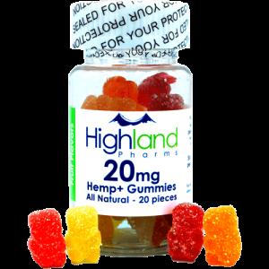 NEW FORMULA! – All Natural Gummies – 20mg PER PIECE!
