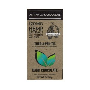 CBD Chocolate – Dark Chocolate – Extra Strength 2.0oz, 120mg CBD