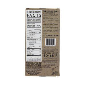 CBD Chocolate – Peanut Butter & Honey (Milk Chocolate) 2.5oz, 60mg CBD