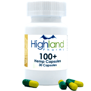 Highland Pharms 100  – Hemp Vegan Capsules 100mg -30ct