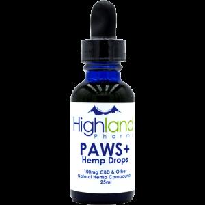 Highland Pharms CBD PAWS (CBD Oil for Pets)