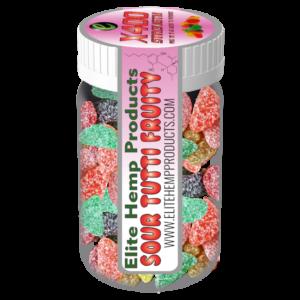 CBD Gummy Fruits x400 Strength