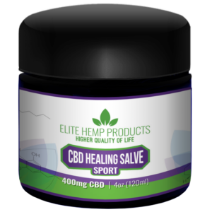 Elite CBD Healing salve – 400mg