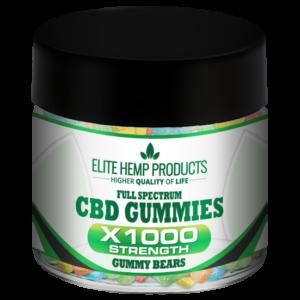 CBD Gummy Bears x1000 Strength