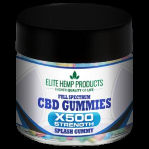 CBD Splash Gummy x500 Strength