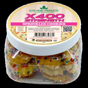 NEW x400 CBD Cookies with Sprinkles