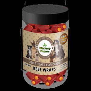 Dog Beef Wraps