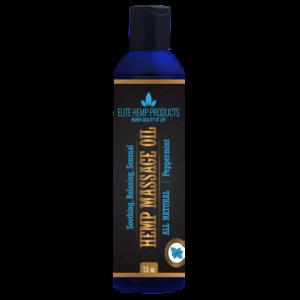 Hemp Massage Oil – Peppermint