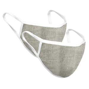 Reusable Hemp Face Mask – 2 pcs