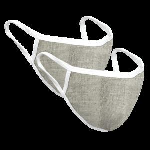 Reusable Hemp Face Mask – 2 pcs