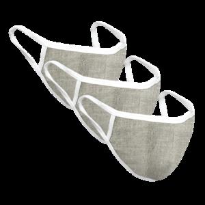 Reusable Hemp Face Mask – 3 pcs