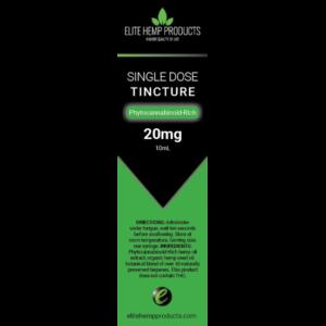 Single Dose Tincture 20 mg