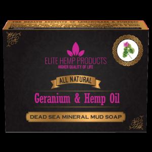 Geranium & Hemp Oil Soap