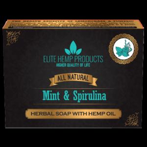 Mint & Spriulina Hemp Oil Soap