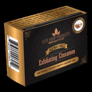 Exfoliating Cinnamon & Hemp Oil Soap