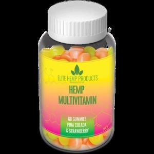 Elite Hemp Multivitamin Pina Colada & Strawberry