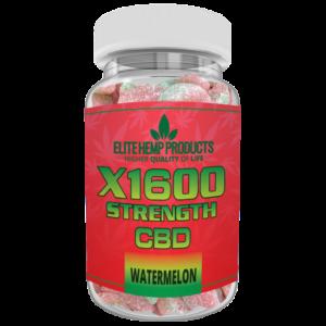 CBD Watermelon x1600 Strength